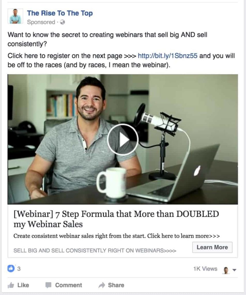 facebook webinar guru guy to show why your blog is not making money