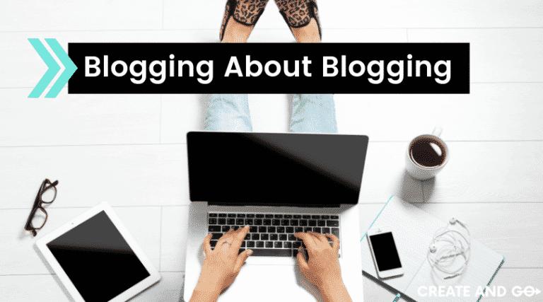 blogging about blogging ft