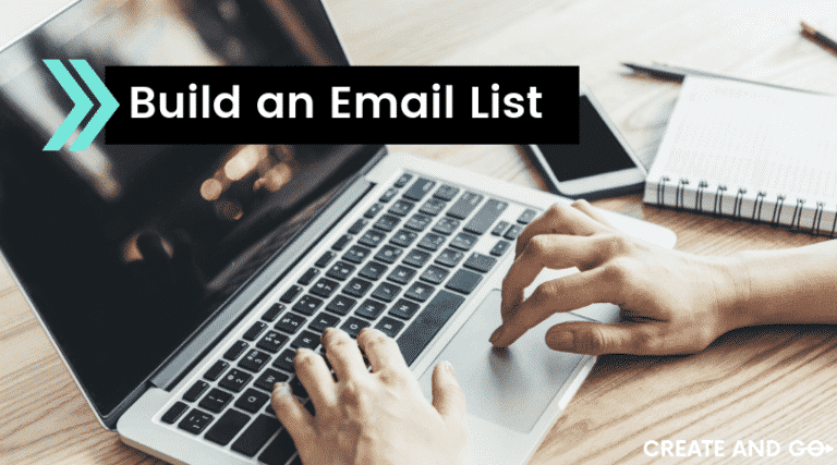 build an email list ft