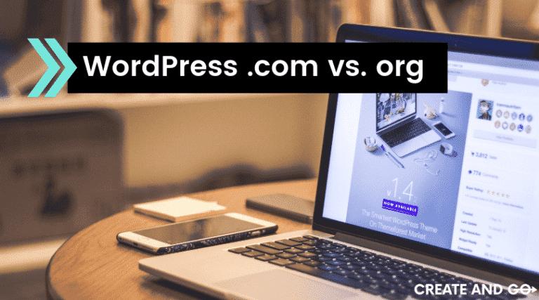 wordpress.com vs. wordpress.org ft