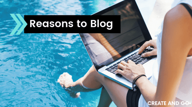 reasons to blog ft