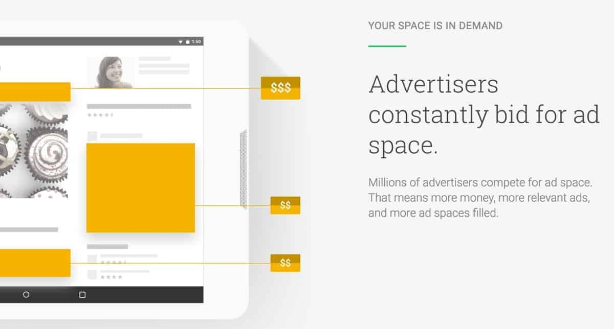advertisers bid on ads for your blog