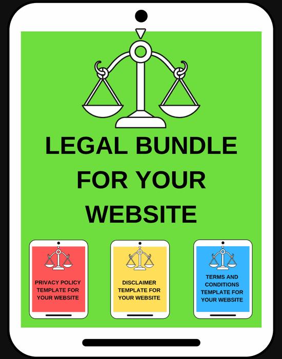 Blog Legal Pages Bundle