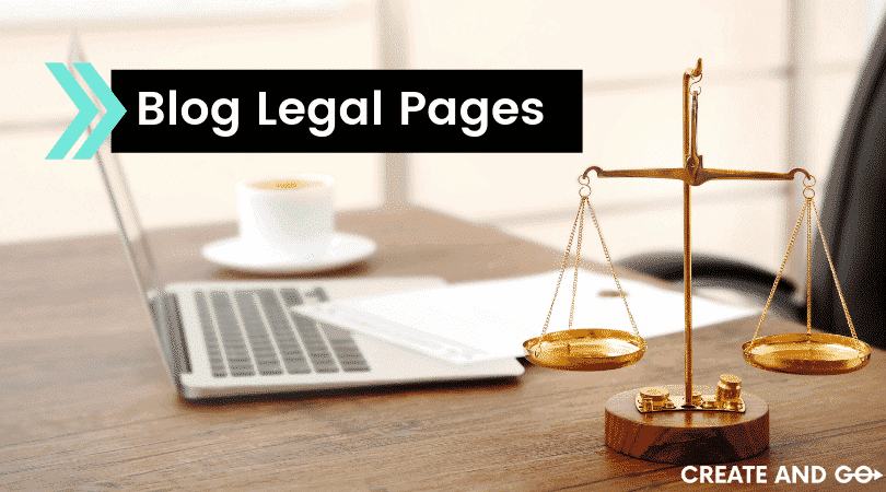 blog legal pages ft