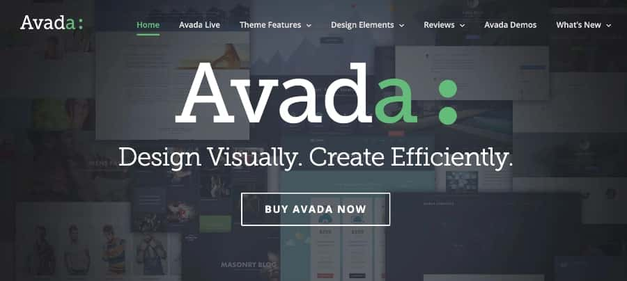 Avada WordPress blog theme