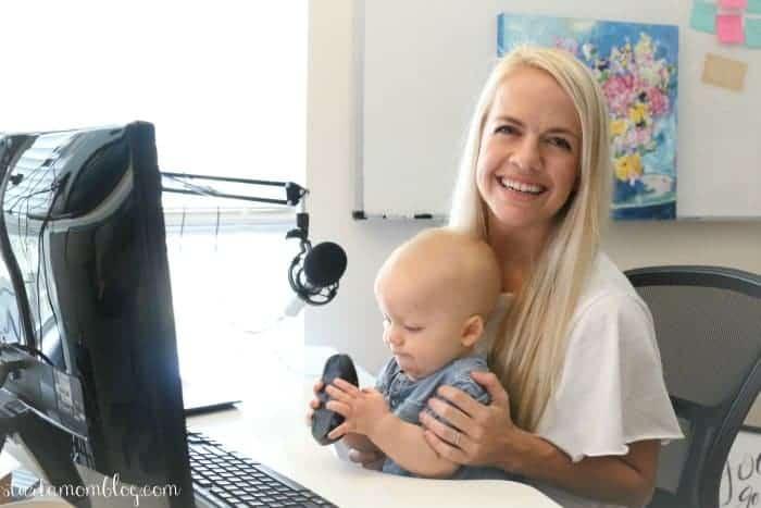 Suzi Whitford start a mom blog