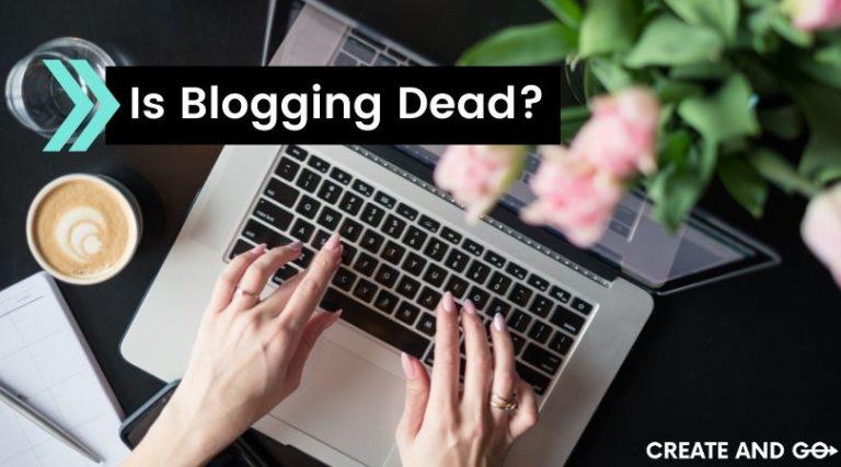 is blogging dead ft