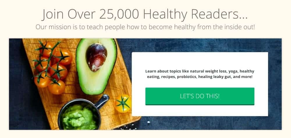 health blog email newsletter