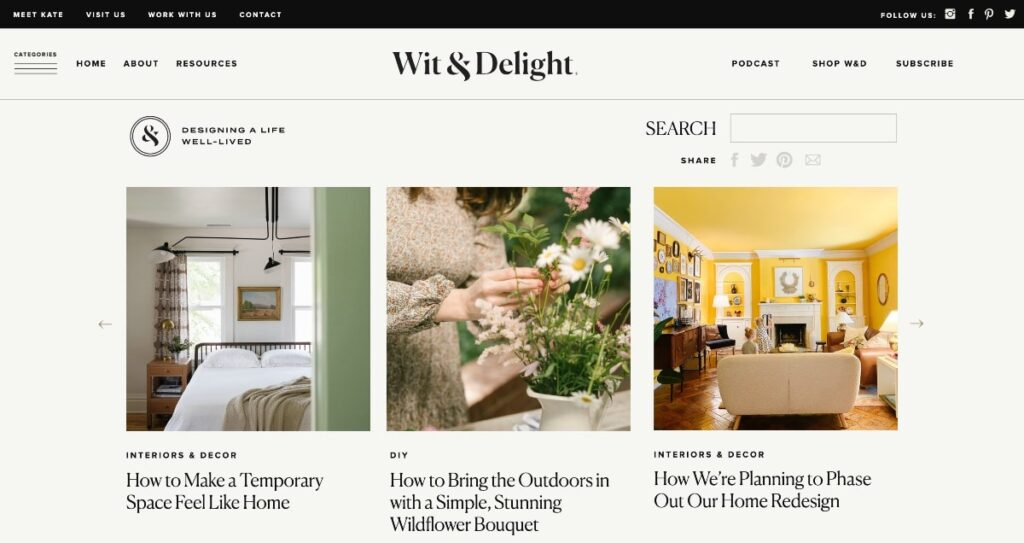 wit & delight blog