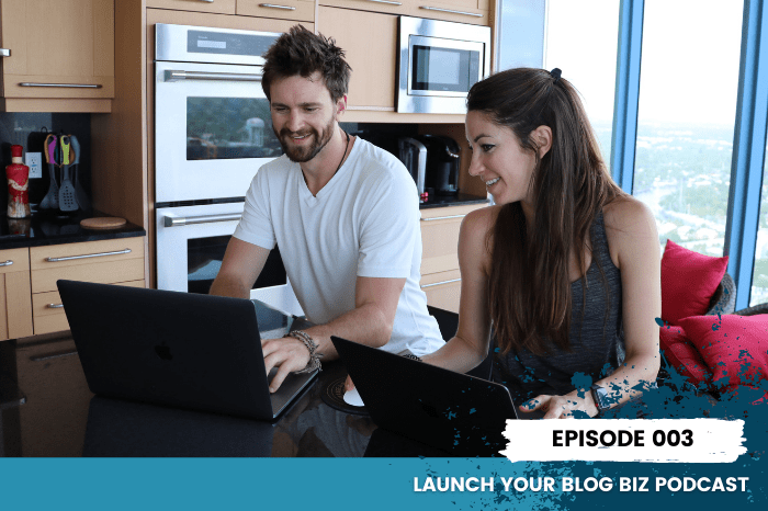 003 podcast running a blog featured