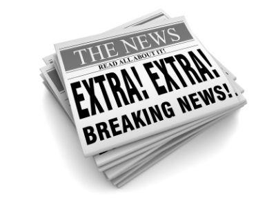 extra extra newspaper headlines